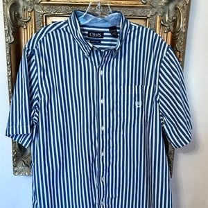 Chaps by Ralph Lauren Button up Polo size XL